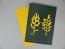 "5"" x 7"" cyanotype paper (lemon yellow)"