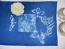 Cyanotype Linen Table Runner