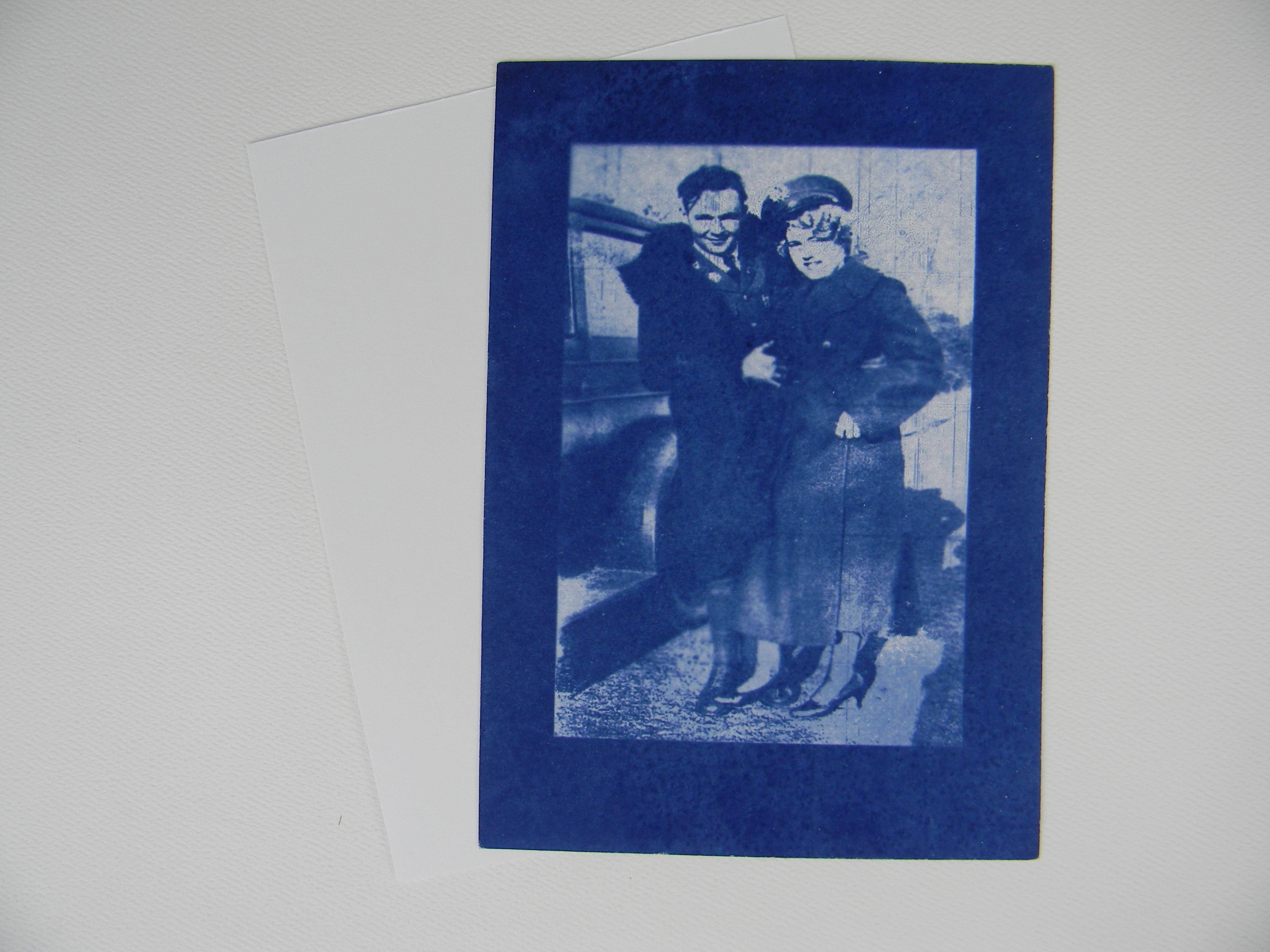 """5"""" x 7"""" cyanotype paper (white)"""