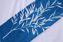 "cyanotype cotton fabric ""by the yard"" (white) - 108"" wide"