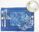 Cyanotype Linen Placemats