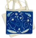 Cyanotype Tote Bags