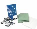 """5"""" x 7"""" cyanotype notecard design kit"""